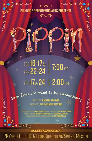 pippin event poster